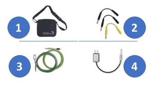 CAP-Phase Accessories: Ground cable 20 cm