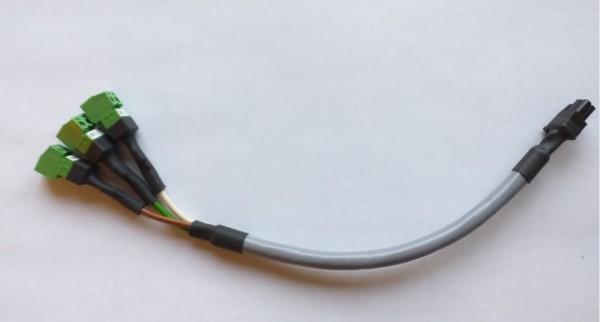 Y- Kabel geschirmt mit Bürde 200kOhm