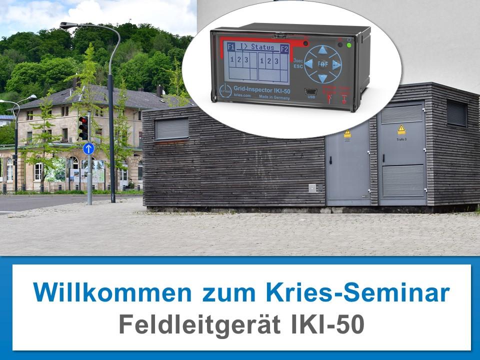 Kries-Seminare online