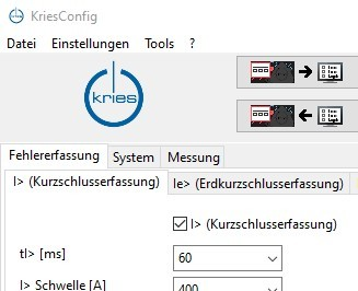 KriesConfig Parametriersoftware